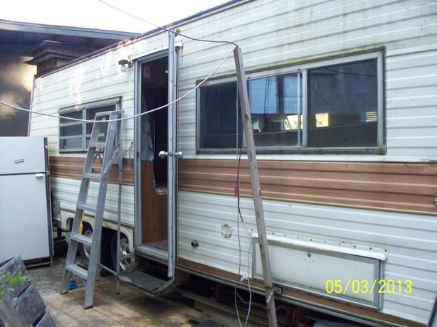 1976 Scamper 24' RV for parts