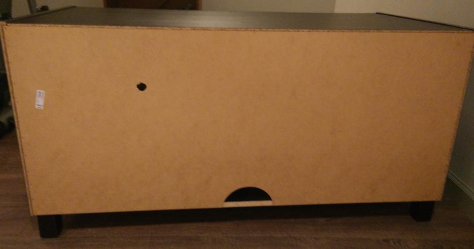 Ikea Benno Black Brown TV Stand South West Calgary
