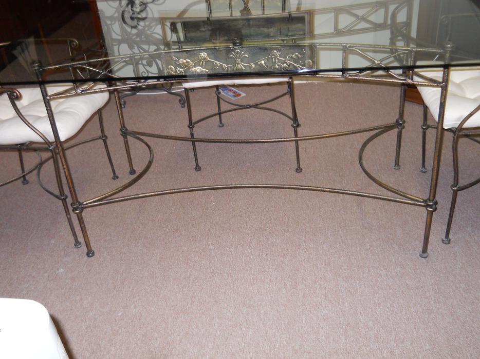 Wrought Iron Glass Dining Table Nepean Ottawa