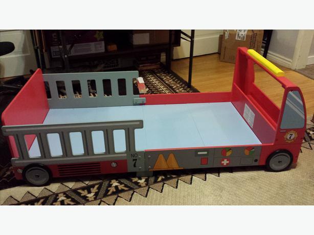 Kidkraft Fire Truck Toddler Bed Central Regina Regina