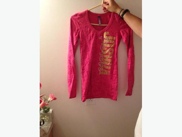 Joshua Perets Long Sleeve pink Shirt