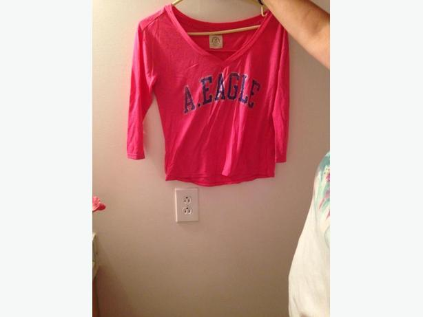American Eagle Pink Shirt
