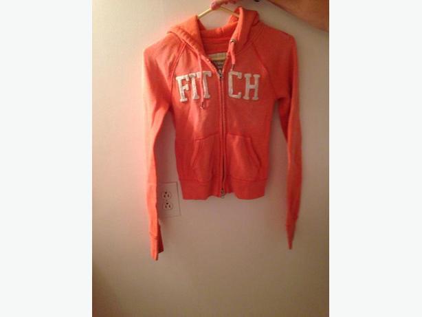 Fitch Orange Sweatshirt