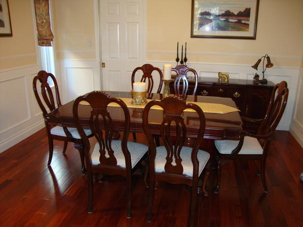 High Quality Formal Dining Room Set Saanich Victoria