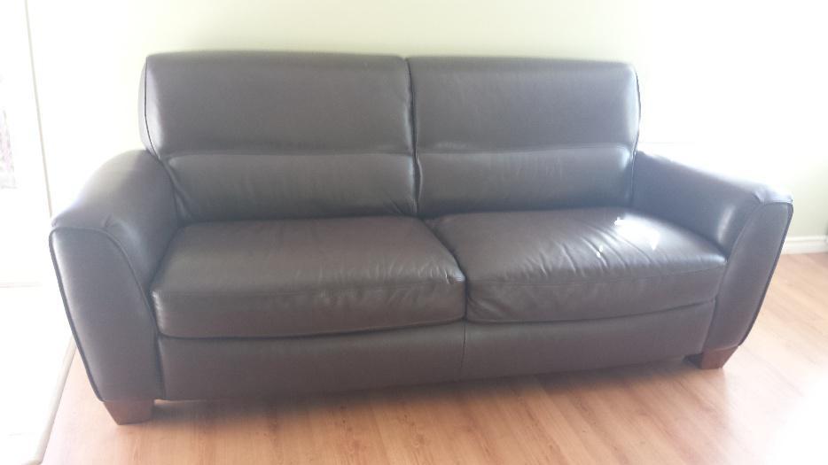 Natuzzi leather couch north nanaimo nanaimo - Natuzzi vancouver ...
