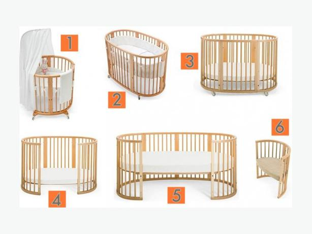 stokke sleepi crib bed natural price reduced duncan cowichan. Black Bedroom Furniture Sets. Home Design Ideas