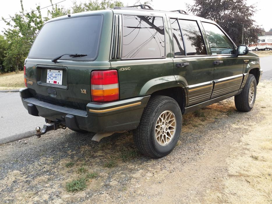 1995 Jeep Grand Cherokee Orvis Suv Crossover South