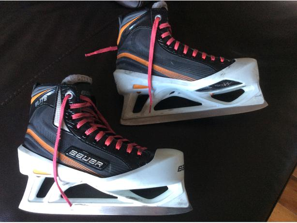 Bauer Elite SR. Goalie Skates 6.5 D - US 8