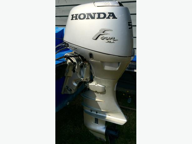 2001 Honda 50hp Outboard Long Shaft Central Saanich Victoria