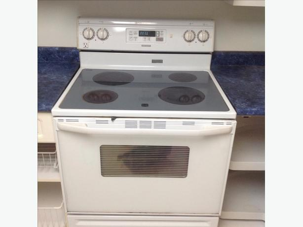 Flat Top Stove ~ Maytag flat top stove saanich victoria