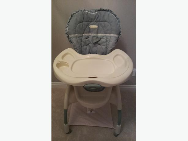 Graco Harmony High Chair With Windsor Fabric Pattern See Attached