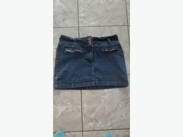 Ladies BONGO Jean Skirt - Size 7