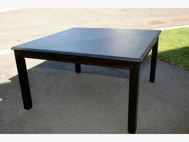 log in needed 100 black vinyl kitchen table for sale