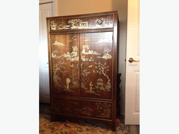 antique dixie hand painted bedroom set west shore