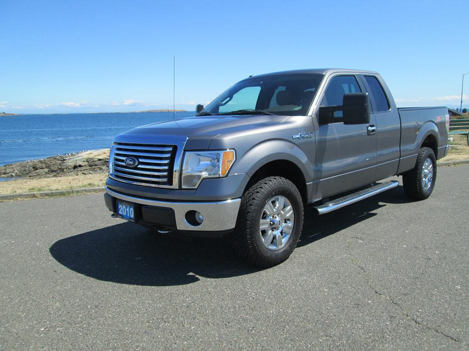 2010 ford f150 xtr extended cab 4x4 on sale local no accidents outside nanaimo nanaimo. Black Bedroom Furniture Sets. Home Design Ideas