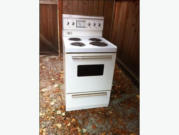 free apartment size range stove esquimalt view royal victoria
