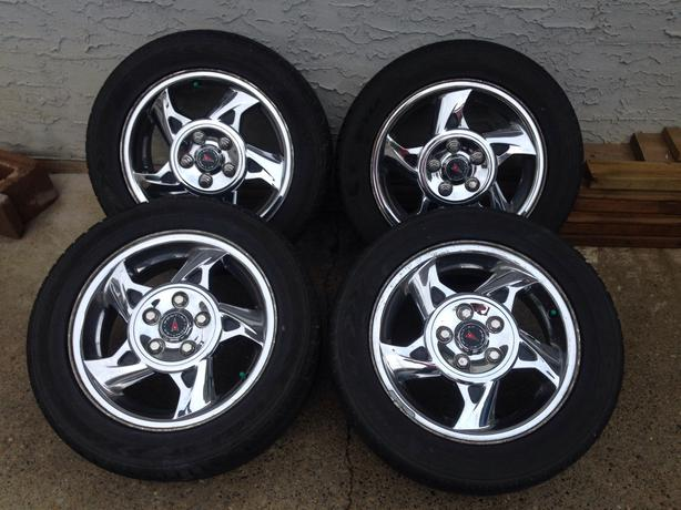 Used Tires Oshawa >> Reduced 2004 Pontiac Grand Am GT Chrome alloy rims and ...