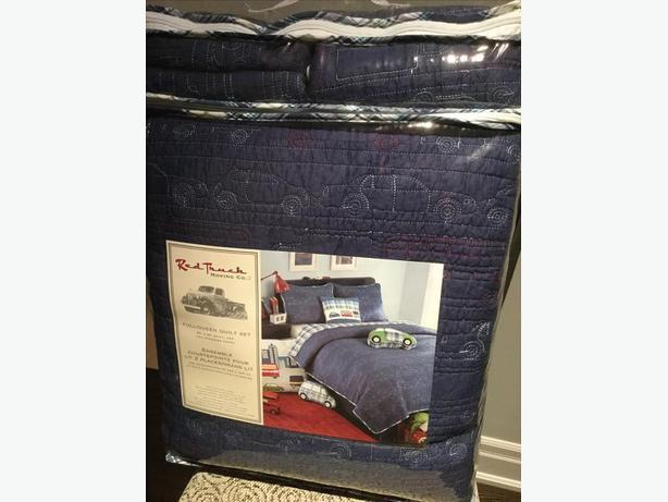 New Quilt Set for Kids Room