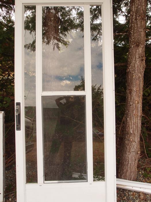Storm Door Frame : Door frame and storm outside victoria
