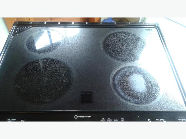 how to clean ceran stove top