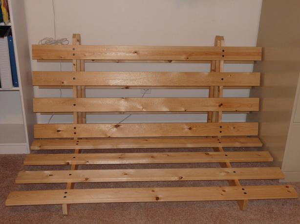 tri fold wood futon frame victoria city victoria