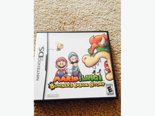 Mario & Luigi DS game
