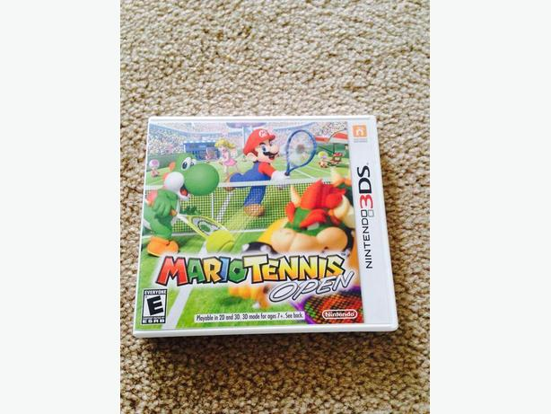 Mario tennis 3DS game