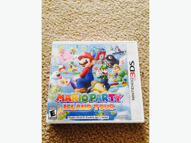 Mario Party island tour 3ds game