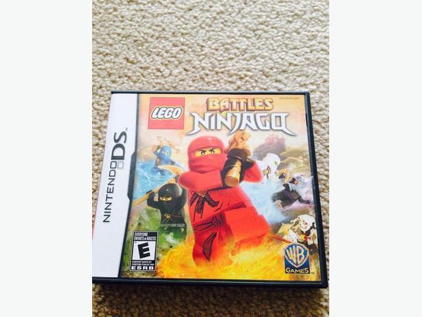 Lego battles ninjago DS game