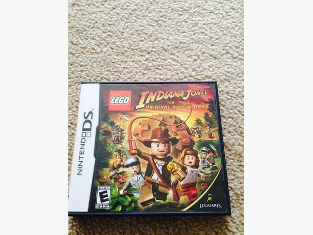 Lego Indiana jones DS game
