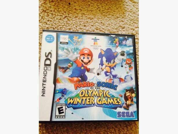 Mario & Sonic DS game