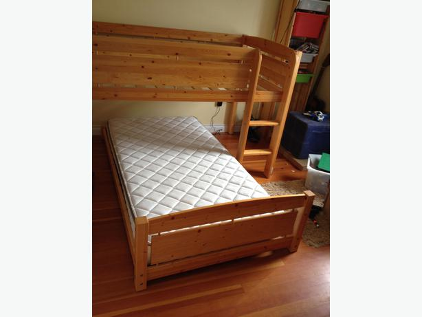 Canwood Loft Bed and Low Bed set Oak Bay Victoria