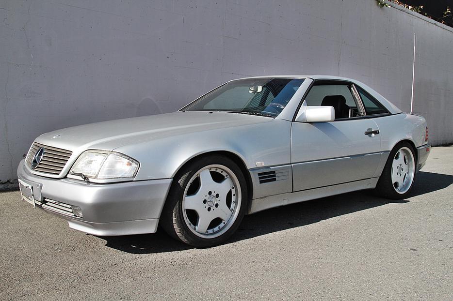 Mercedes benz sl500 73 000km convertible outside nanaimo for Mercedes benz nanaimo