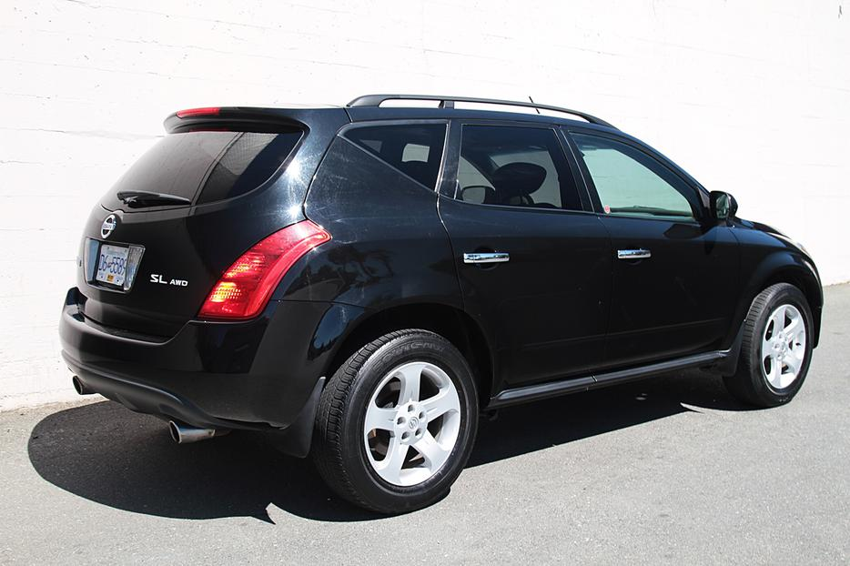 2005 nissan murano ls awd 1 year limited warranty outside nanaimo parksville qualicum beach. Black Bedroom Furniture Sets. Home Design Ideas