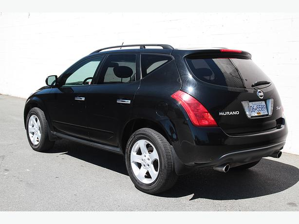 2005 nissan murano ls awd 1 year limited warranty outside comox valley courtenay comox mobile. Black Bedroom Furniture Sets. Home Design Ideas