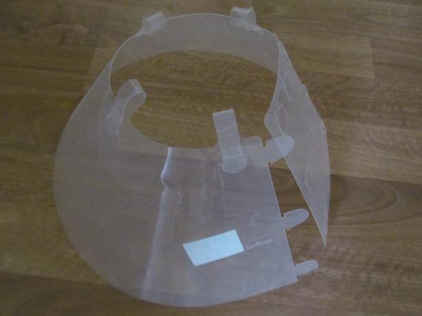 Clear Plastic Dog Cone Collar