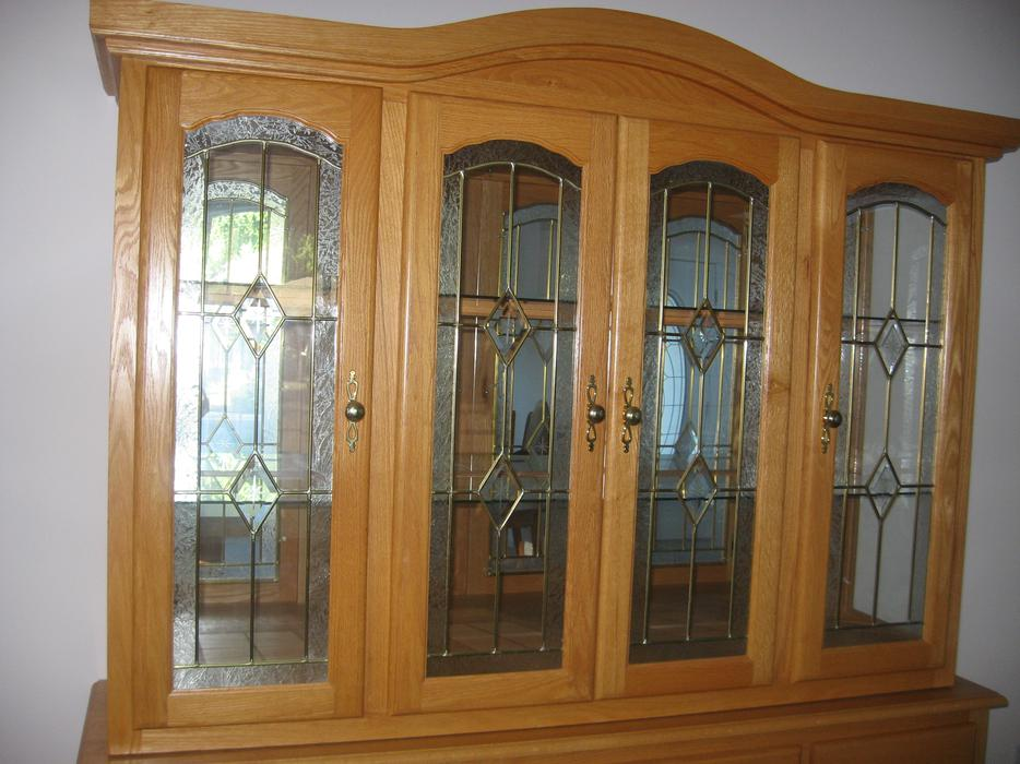 Dining Room Table & Display Case Outside Nanaimo ...