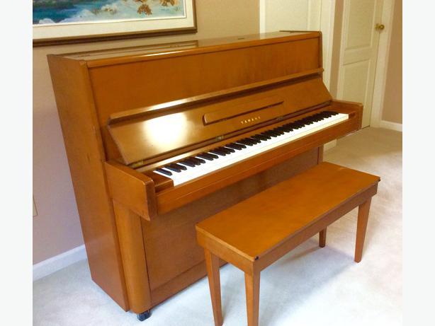 Yamaha p1 upright piano saanich victoria for Yamaha piano store winnipeg