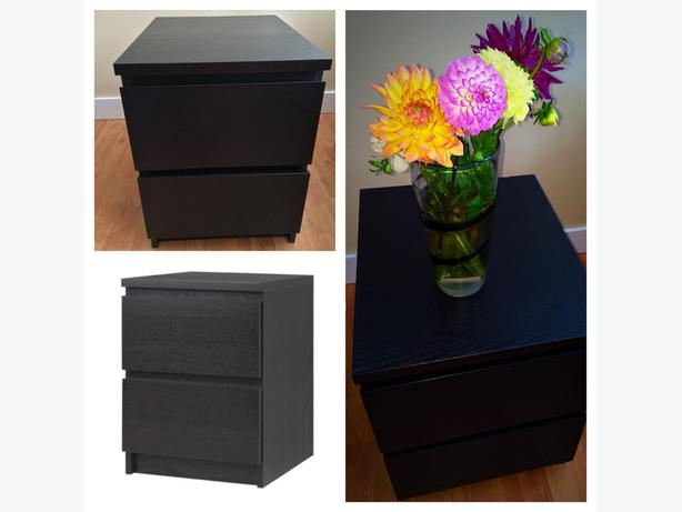 ikea malm nightstand bedside table saanich victoria. Black Bedroom Furniture Sets. Home Design Ideas