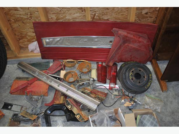 1966 and 1967 Comet Caliente and Cyclone parts