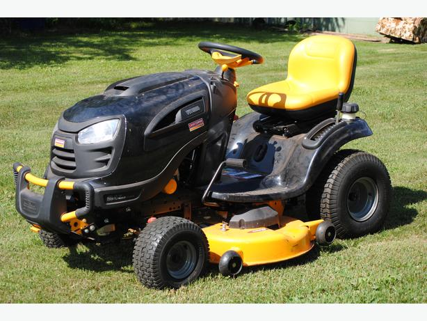 how to start a lawn tractor