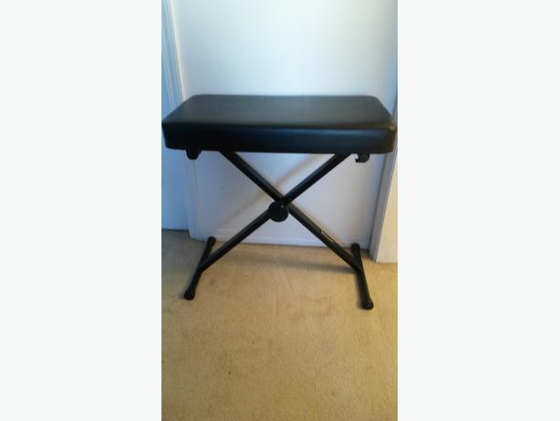 Piano Keyboard Padded Bench Stand North Nanaimo Nanaimo