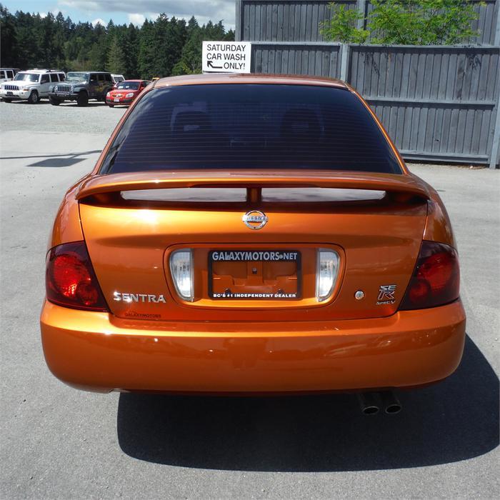 2004 Nissan Sentra Se R Spec V 6spd Man Pwr Moonroof West