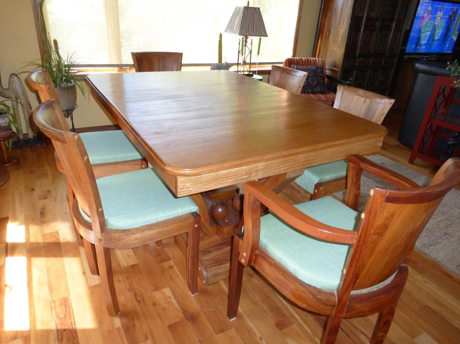beautiful teak dining room set outside nanaimo nanaimo
