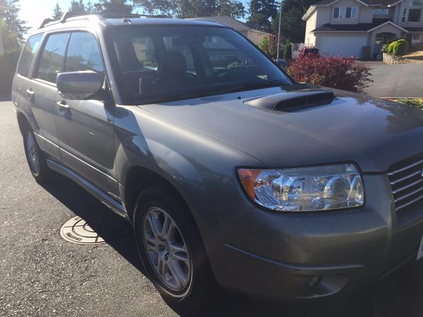 2006 subaru forester xt saanich victoria. Black Bedroom Furniture Sets. Home Design Ideas