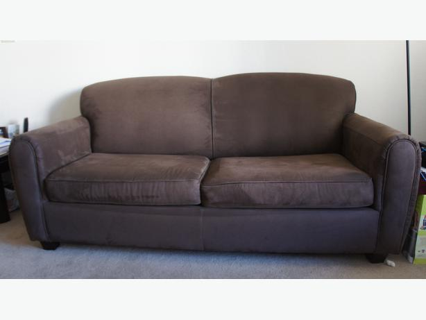 100 off if brown suede futon couch for sale for Suede couches for sale