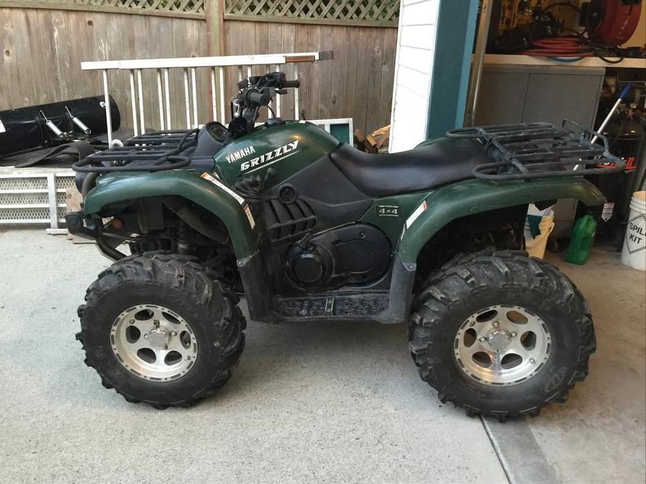 2006 yamaha grizzly 660 atv for sale central nanaimo for 2006 yamaha grizzly 660 value