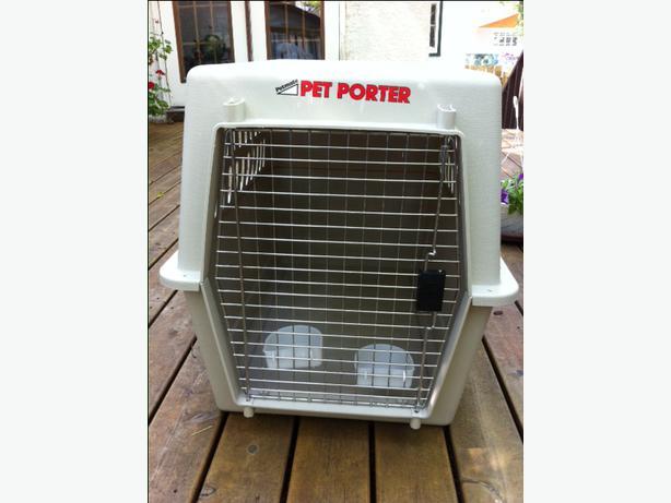 Red Pet Porter Dog Kennel