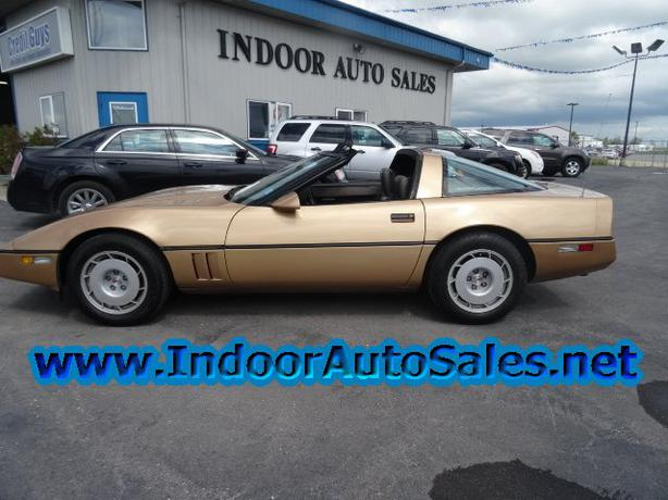 Auto Sale Winnipeg: 1984 Chevrolet CORVETTE C4 Auto Indoor Auto Sales Winnipeg