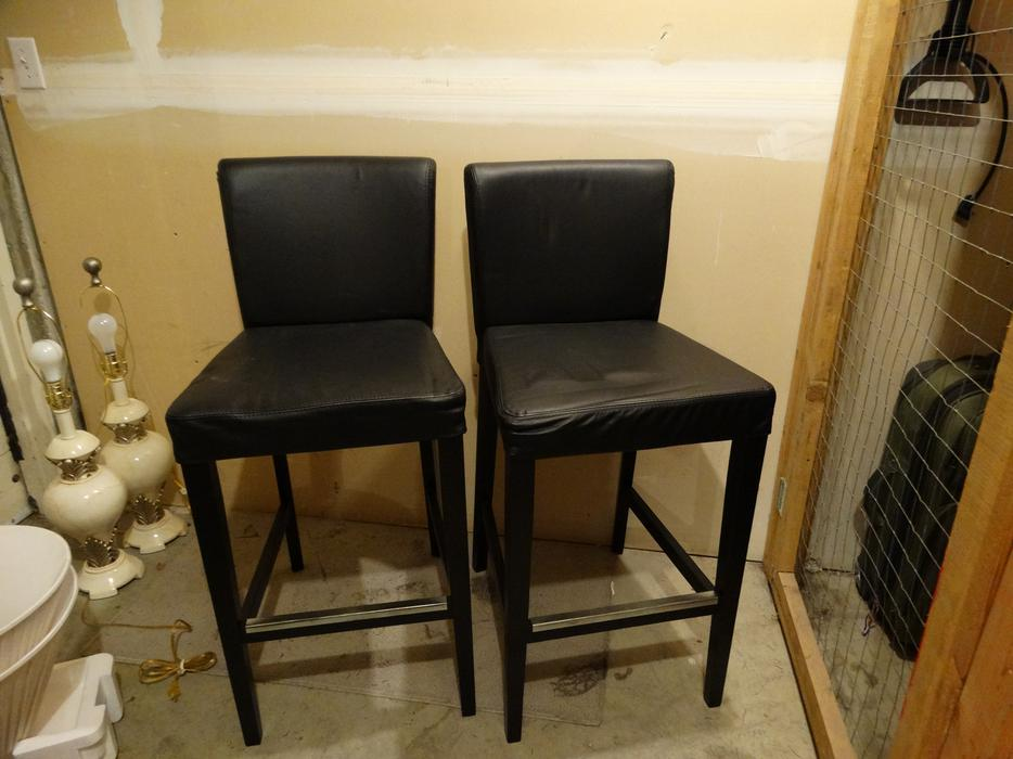Two Ikea Henriksdal Bar Stools Saanich Victoria Mobile